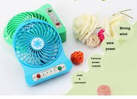 Wholesale 2016 new hot selling usb rechargable mini fan high quality and cheap price low MOQ