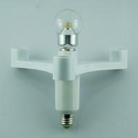 Wholesale 4 In E27 to E27 Socket Splitter Light Lamp Bulbs Adapter Holder For Studio