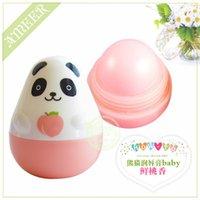 animal lip balm - 600pcs Cool Fruit Lip Gloss Supercute animal Missing Lip balm moisturing girl women beauty