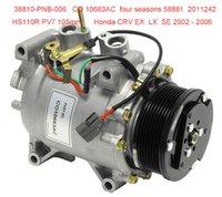 Wholesale HS R ac compressor for Honda CRV PNB PNB006 CO AC
