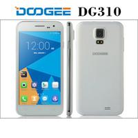 Ebook blanc Prix-Doogee VOYAGER2 DG310 MTK6582 Quad-Core Android 4.4 Phone w / 5.0