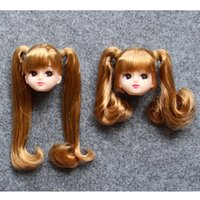 Wholesale Doll Head Doll Accessories Head for Licca Doll Girl s Toy with Track Code