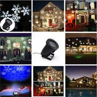 Wholesale IP65 Outdoor IP65 Waterproof Laser Stage Light Elf Christmas lights Xmas Star laser light projector Red Green Yark Decorations