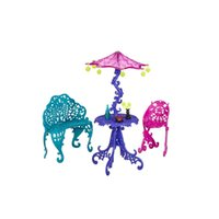 best furniture toys - New Arrival One Set Doll Furniture Travel Scaris Cafe Chair For Monster High Doll Girls Best Gift