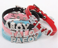 alligator dog collar - Customized PU leather dog collar alligator leather collar for DIY mm slide letters multi mixed colors