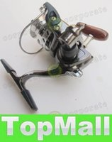 Wholesale LAI MN100 Fishing Reel World s Smallest Full Metal Mini Ice Shore Ralfting Lure Winter Pen Rod Spinning Reel