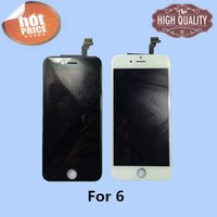 Wholesale For IPhone AAA quality No dead pixel LCD Display Touch Digitizer Complete Screen Assembly Replacement With DHL