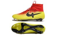 Wholesale High Ankle Magista Obra FG Soccer Shoes outdoor football boots cheap football shoes size39