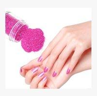 Wholesale New Beauty Colors Acrylic DIY Glitter Decoration Nail Art Sequins Powder Set N12p