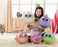 Wholesale The new d angry birds big movie cartoon figures cm large stuffed birds gift