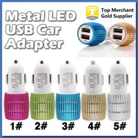 amp output - Metal Dual USB Port Car Charger Output A and Amp for Apple iPhone s iPad iPod Samsung Moto Nokia Htc