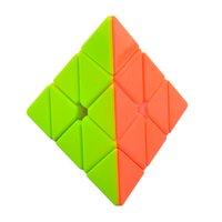 Wholesale Cyclone Boys Pyramid Pyraminx x3x3 Magic Cube Speed Cube Puzzle Colorful