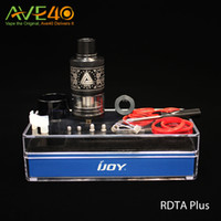 big match - Authentic Limitless RDTA Plus vaporizer ml Big Capacity ecigarette Atomizer Tank Best Match with Limitless w Box Mod newest Ijoy vapor