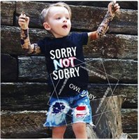 baby tattoo sleeves - 8 Styles New Kids Baby Boy girl Patchwork long sleeved T shirt Mosaic hip hop sashimi TATTOO SLEEVE Tops Tees Children clothing FREE DHL