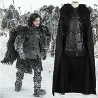 advanced party - Game Of Thrones Cosplay Costumes Newest Advanced Complete Set Clothing adult men Cosplay Costume Custom for Halloween and Christmas party