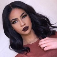 Wholesale Full Lace Human Hair Wigs Short With Baby Hair Unprocessed Lace Front Wig A Grade Brazilian Lace Wgs For Black Women