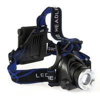 Wholesale SALE Lm Bright Zoomable C XML T6 LED Headlight Headlamp Zoom LED Head Light Lamp Flashlight for Bike Bicycle Cycling