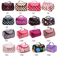 Wholesale Discount Hot Sale Colors Cheap Zipper Makeup Clutch Women s Travel Cosmetic Bag DHL