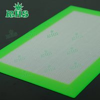 Wholesale pastry boards x20 cm quot X7 quot Non stick silicone baking liner doughing baking mat Butane Concentrate Oil silicone heat resistant pad