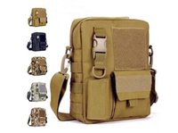 Wholesale Men s Messenger Bags Fishing Military Equipment Sport Crossbody Tactical Bag Satchel Bag MOLLE System Single Shoulder
