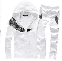Wholesale new arrival men fashion casual sport suit spring autumn hoodies sweatshirts tracksuit XL XL DCL83