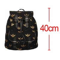 Wholesale Anime New Game The Legend Of Zelda Backpack Zelda Logo Canvas Black Bag Unisex School Plush Backpack For girls boys High quality