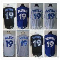 baseball direct - 2015 New Jose Bautista jersey Men Stitched Tampa Toronto Blue Jays authentic baseball jerseys cheap custom buy direct from china red M