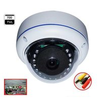 Wholesale Wide Angel Degree Anolog Security Fisheye Camera with IR LEDS for Day and Night Surveillance