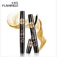 Wholesale China Top Mascara Brand New Flamingo Waterproof Lengthening Curling Thick Eyelash D Extremely Long Mascara