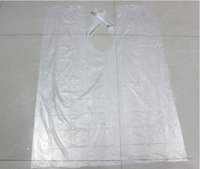 barber gown - 200pc Disposable Hair cutting Cape Salon Gown Hair Cut Cutting Salon Stylist Cape Nylon Barber Cloth