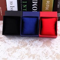 Wholesale Practical Jewelry Box Present Gift Boxes for Bracelet Bangle Necklace Earrings Watch Case with Foam Pad Drop Shipping