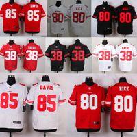 49ers - NEW Jarryd Hayne Jerry Rice Vernon Davis ers Jerseys Cheap discount football jerseys Custom Limited Elite Game Embroidery