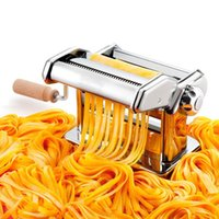Wholesale New Hot IMPERIA Italian Manual Pasta MachineDouble Cutter Pasta SP150 Maker Kitchen Cooking Tools