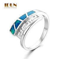 aquamarine opal ring - 925 sterling silver jewelry Aquamarine Opal ring fashion women men lover wedding ring Fine Party Jewelry FR357