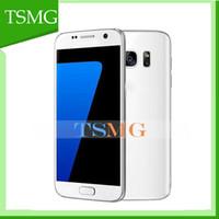 S7 5,1 pulgadas Android 5.1 teléfono Mtk6580 Quad Core 4 GB ROM Móvil de doble cámara de WiFi con el logotipo de la caja sellada de desbloqueo Móvil VENTA CALIENTE.
