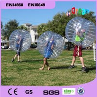 Wholesale Inflatable soccer bubble ball bumper ball human hamster ball zorb ball loopy ball
