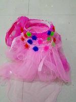 Wholesale 2016 new crown yarn manufacturers selling children s jewelry Girls Head Pieces Garland wreath wreath headdress shipping luminous veil