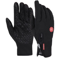 Wholesale Touch screen Gloves Winter Riding gloves fleece warm all the outdoor ski Cycling Bicycle motion bicycling gloves