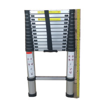 aluminium ladder - 3 M Multi purpose Aluminium Telescopic Ladder DIY Foldable Extendable Builders