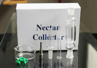 ash box - 1pcs Colors Gift Box Nectar Collector mm mm mm Kit with Quartz Titanium Tip ash catcher for oil rigs glass bongs