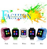 Wholesale Newest NO D3 MTK6261 Smart watch SIM MB ROM WristWatch Support Android IOS mAH GSM colors Bluetooth Smartwatch