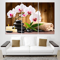 baking pictures - 3pcs Hot Selling Whole Website Christmas Lover Luxicious Flower Bake The Wall Such Perfect Printed Canvas Painting Wall Pictures