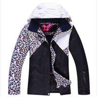 Wholesale Winter Women Ski Jacket Skiboarding Suits Waterproof Windproof Heat Preservation Mountaineering Wear Descente Ski Jackets