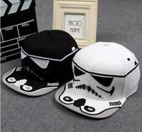 brand baseball cap - New arrival Fashion Brand Star Wars Snapback Caps Cool Strapback Letter Baseball Cap Hip hop Hats For Men Women