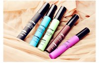anti stain - Music Flower Color Mascare Anti Corona Stain Waterproof Slender Thick Mascare Base For Nice Eyes Color