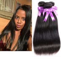 amazing deals - Amazing Hair Product A Mink Human Hair Weave Peruvian Virgin Hair Straight Bundle Deal Brazilian Malaysian Indian Unprocessed Virgin Hair