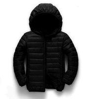 Wholesale High quality baby boys Girls winter white duck down jackets boys down coat kids warm outerwear