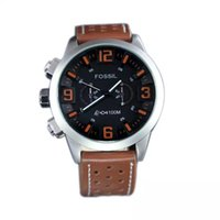 american steel table - New Brand Wristwatch Quartz Watch Date DZ American Men Stainless steel fossiler Casual Fashion Army table Masculino Relogio