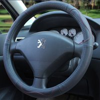 Wholesale New Style Fashion Car Steering Wheel Cover Four Seasons General Leather Cover Car Interior Decoration Supplies Various Colours Hot sales