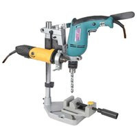 bench press - Dremel Electric Drill Stand Power Rotary Tools Accessories Bench Drill Press Stand DIY Tool Double Clamp Base Frame Drill Holder